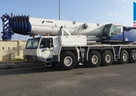 Cho thuê cẩu lốp 220 tấn ATF220G-5 giá rẻ